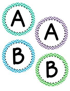 Bulletin Board Letters: Bright Colors
