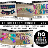 Bulletin Board Letters Bundle #11 KG Fonts