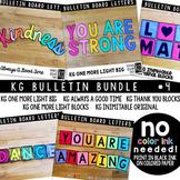 Bulletin Board Letters Bundle #4 KG Fonts