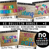 Bulletin Board Letters Bundle #8 KG Fonts