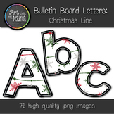 Bulletin Board Letters: Christmas Line (Classroom Decor)