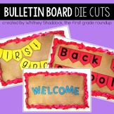 Bulletin Board Letters: Chunky and Skinny Fonts