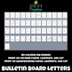 Bulletin Board Letters & Clipart for Back to School