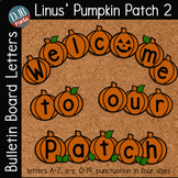 Bulletin Board Letters: DJB Pumpkin Patch 2