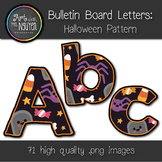 Bulletin Board Letters: Halloween Pattern (Classroom Decor)