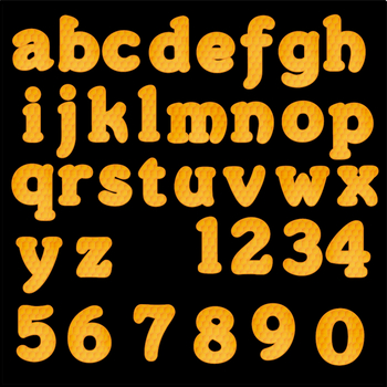 Bulletin Board Letters: Honeycomb, Numbers, and Images