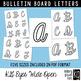 Bulletin Board Letters: KG Eyes Wide Open