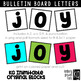 Bulletin Board Letters: KG Inimitable Original Blocks ~ EASY CUT