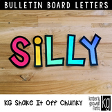 Bulletin Board Letters: KG Shake It Off