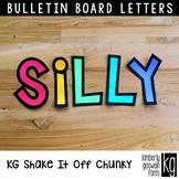 Bulletin Board Letters: KG Shake It Off