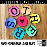 Bulletin Board Letters: KG Wake Me Up