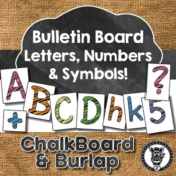 Bulletin Board Letters / Numbers / Symbols