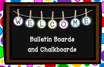 Bulletin Board Letters, Numbers & Symbols {Classroom Decorations}