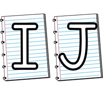 Bulletin Board Letters {Paper}