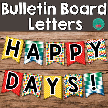 Bulletin Board Letters Printable