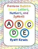 Bulletin Board Letters: Rainbow