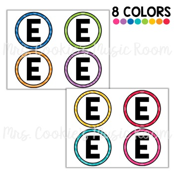 Bulletin Board Letters: Rainbow Dots Theme