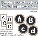 Bulletin Board Letters - Rustic Farmhouse Chic