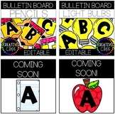 Bulletin Board Letters: SCHOOL BUNDLE {Made by Creative Clips}