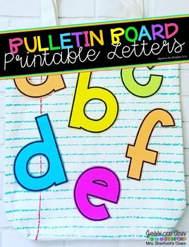 Bulletin Board Letters - The Price of Teaching