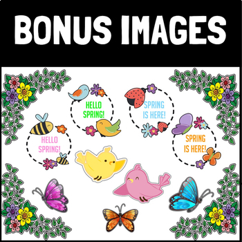 Bulletin Board Letters: Thin Spring, Numbers, and Images