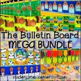 Bulletin Board MEGA Bundle - 10 Sets for the ENTIRE YEAR!  K 1 2 3