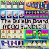 Bulletin Board MEGA Bundle II - 10 writing and craft display sets Kindergarten