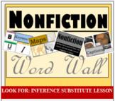Word Wall, Nonfiction, Mix & Match, PDF, Printable, Decora