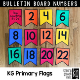 Bulletin Board Numbers: KG Primary Penmanship Flags: Skip