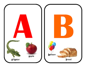 Jubilee's Junction - Classroom ALPHABET A-Z w/illustrations POSTERS
