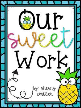 Bulletin Board Pineapple Our Sweet Work