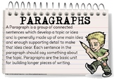 Bulletin Board Posters: Paragraphs