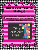Bulletin Board Printable Words ...This is Your Year to Sparkle!