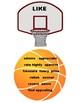 Bulletin Board Printables -  Basketball Word Rebound