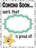 Bulletin Board - Proud Work Coming Soon!