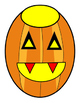 Bulletin Board Pumpkin Other Uses Halloween 4pages