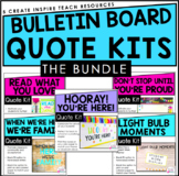 Bulletin Board Quote Kits for Classroom Community {Bundle}