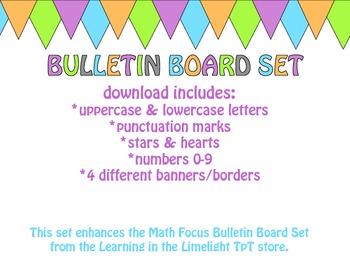 Colorful Bulletin Board JUMBO Set