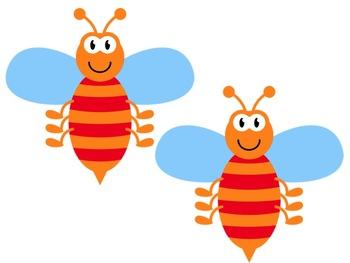 Bulletin Board Set: Bug Themed Back To School Set EDITABLE