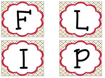 Bulletin Board Set: Flip Flop Theme