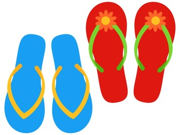 0bf0216c4 Bulletin Board Set  Flip Flop Theme by The Carefree Classroom
