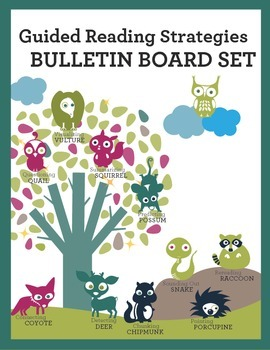 Bulletin Board Set: Guided Reading Strategies