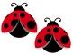 Bulletin Board Set: Ladybug Back To School Set EDITABLE