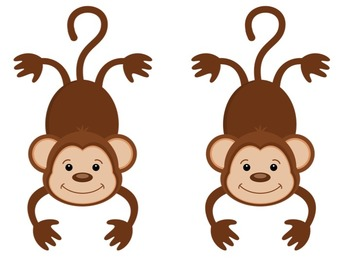 Bulletin Board Set: Monkey Themed Back To School Board