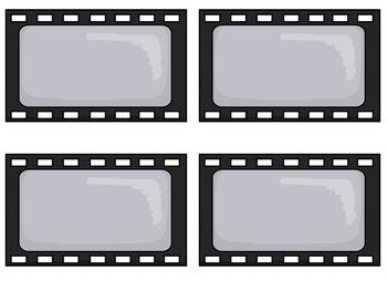 Bulletin Board Set: Movie Theme 2 Back To School Board