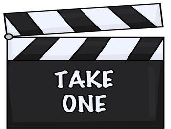 Bulletin Board Set: Movie Themed Back To School Set EDITABLE