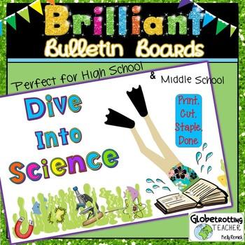 Bulletin Board Set-Science (Dive Into Science)