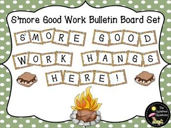 Bulletin Board Set: Smore' Good Work Bulletin Board Set