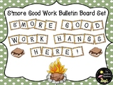 Bulletin Board Set: S'more Good Work Bulletin Board Set