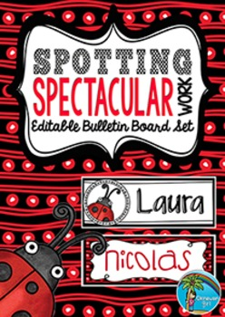 Bulletin Board Set: Spotting Spectacular Work {US VERSION}